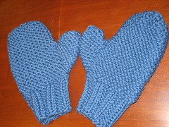 Easy Cabled Mittens Knitting Pattern | Momogus Knits | instant PDF