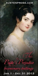 Book 1 for the P&P Bicentenary Challenge