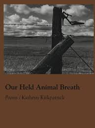 our held animal breath