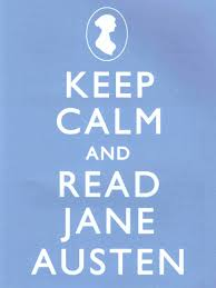 keep calm and read jane austen