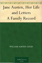 jane austen life and letters