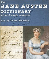 the jane austen dictionary