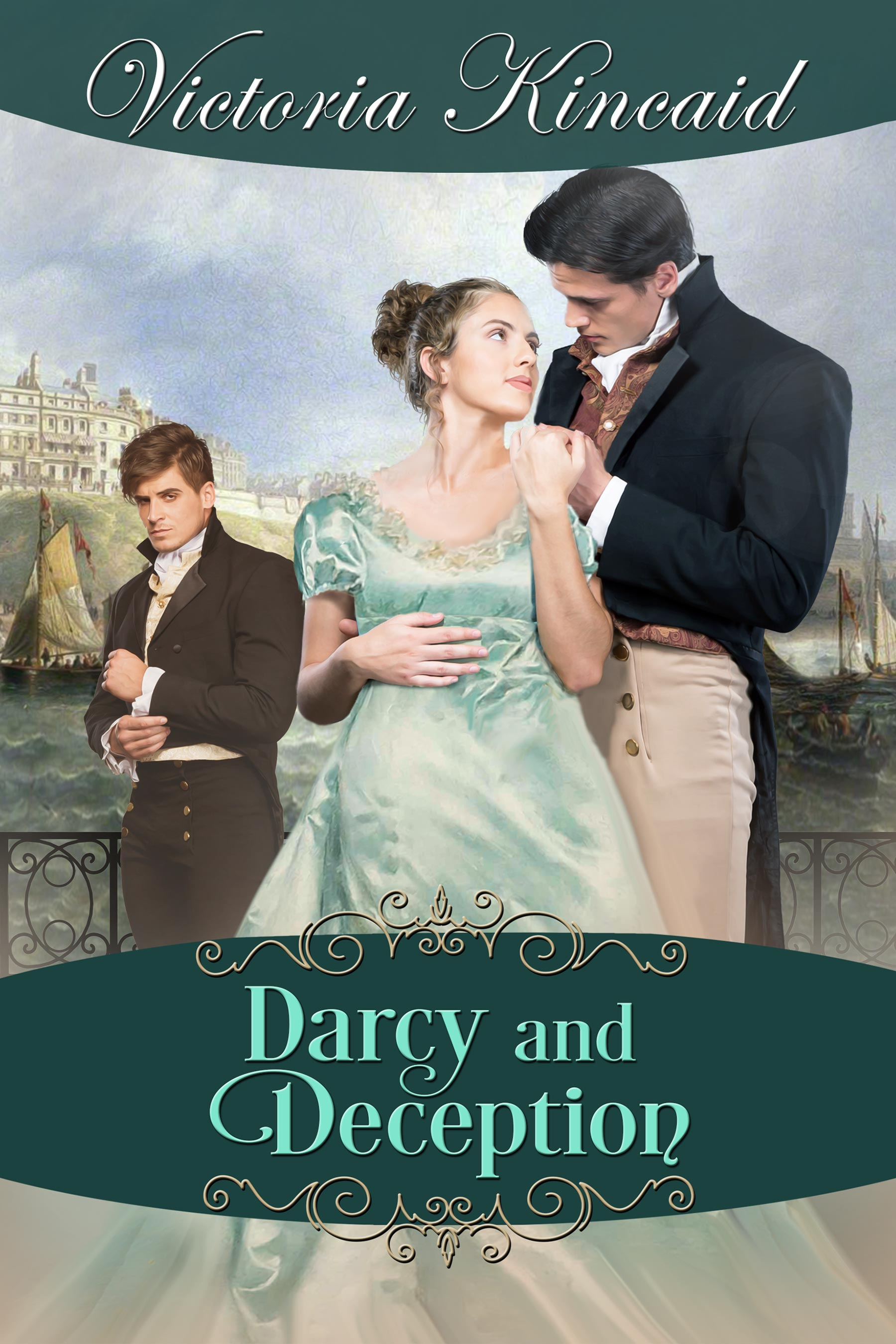 Guest Post, Excerpt & Giveaway: Darcy and Deception by